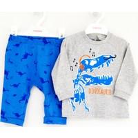 Mamino 8661 Erkek Bebek Pijama Takımı