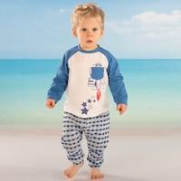 Mamino 8735 Erkek Bebek Pijama Takımı