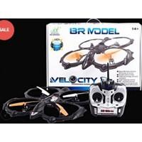 Xtoys Br6803 40 cm Büyük Boy Drone Kumandalı Helikopter