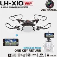 Xtoys Lh X10 Wifi Kameralı 2.4 Ghz Kumandalı Drone Helikopter