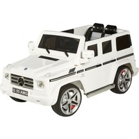 Baby2Go 6532 Mercedes G55 Jepp Beyaz Akülü Araba