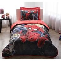 Taç 3051 Lisanslı Spiderman In City Tek Kişilik Uyku Seti 60141369