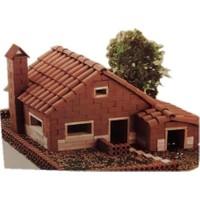 Domenech Dom03-3303 Pottery Chalet Ev Maketi