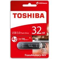 Toshiba 32GB Suzaku USB 3.0 Siyah Okuma:70MB/sn