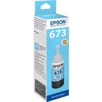 Epson T6735 L800 70ml Açık Mavi Mürekkep Kartuş