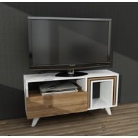 Dekorister Novella K2 Tv Ünitesi Beyaz/Ceviz