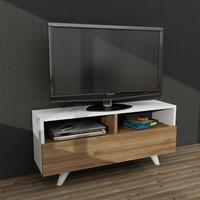 Dekorister Novella K3 Tv Ünitesi Beyaz/Ceviz