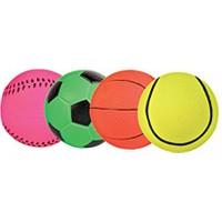 Fosforlu Köpek Oyun Topları Kauçuk 6cm