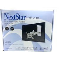 Nextstar Ye-2204 10-27'' Hareketli Çift Kollu Lcd-Led Tv Monitör Askı Aparatı