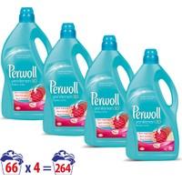 Perwoll Yenilenen Renkler Hassas Çamaşır Deterjanı 4 lt 4'lü Set