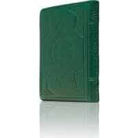 Hayrat Kuran-I Kerim Çanta Boy (Yeşil Renk, Kılıflı, Mühürlü)