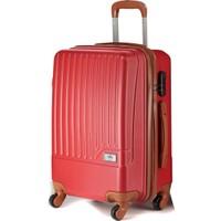 Wexta Kırmızı Orta Boy Valiz WX231
