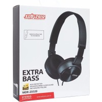 Subzero MDR-ZX320 Stereo Extra Bass Hi-Fi Kulaküstü Kablolu HD Kulaklık