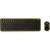 Everest KM-4835 Siyah / Turuncu Kablosuz Multimedia Klavye + Mouse Set