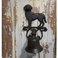 House2Home Antik Döküm Koleksiyon - Köpek Kapı Çanı