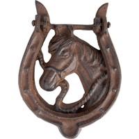 House2Home Antik Döküm Koleksiyon - At Nalı Kapı tokmağı