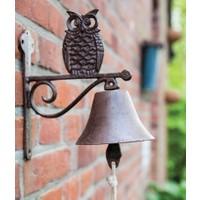 Antik Döküm Koleksiyon - Baykuş Kapı Çanı