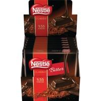 Nestle Bitter Kare Tablet Çikolata 80 Gr