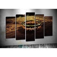 Caddeko Pl60 Lord Of The Rings Kanvas Tablo 70 x 100 cm