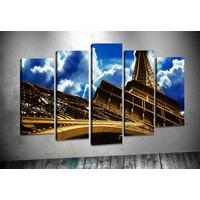 Caddeko Rpt101 Eyfel Kulesi Paris Kanvas Tablo 70 x 100 cm