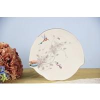 Fidex Home Kuşlu 6 Lı Pasta Tabağı 21.5Cm