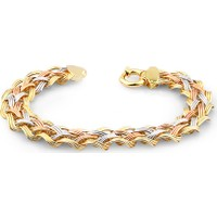 Jival L Jewellery 14 Ayar Altın Hallow Bileklik