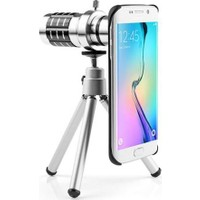 Markacase Samsung S6 Edge Birebir Kılıflı 18X Zoom Teleskop Telefon Kamera Lensi
