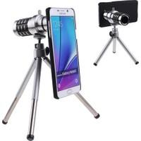 Markacase Samsung Note 5 Birebir Kılıflı 18X Zoom Teleskop Telefon Kamera Lensi