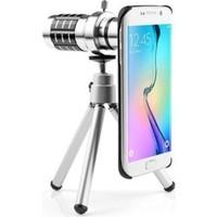 Markacase Samsung S7 Birebir Kılıflı 12X Zoom Teleskop Telefon Kamera Lensi