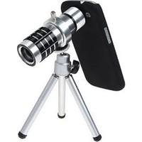 Markacase Samsung S6 Edge Plus Birebir Kılıflı 12X Zoom Teleskop Telefon Kamera Lensi