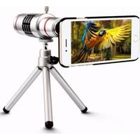 Markacase Apple iPhone 5-5S Birebir Kılıflı 12X Zoom Teleskop Telefon Kamera Lensi