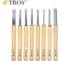 Ennalbur Troy 25008 Ahşap Torna Bıçak Seti (8 Parça)