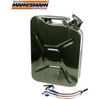 Ennalbur Mannesmann 047-T 10 Litre Metal Benzin Bidonu