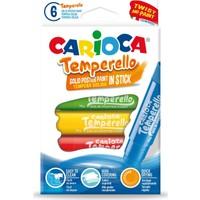 Carioca Temperello Stick Poster Boya Kalemi 6'lı