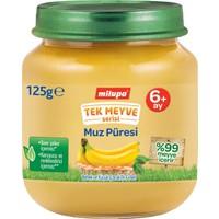 Milupa Tek Meyve Muz Püreli Kavanoz Maması 125 gr