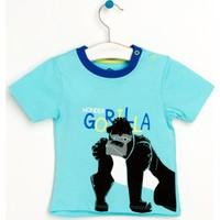 Wonder Kids Goril Desenli Tshirt