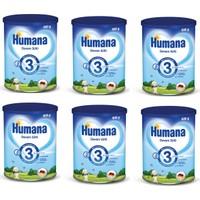 Humana 3 Metal Kutulu Devam Sütü 800 gr - 6'lı