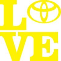 Smoke Toyota I Love Sarı