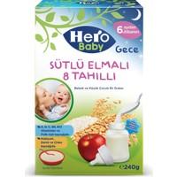 Hero Baby Sütlü Elmalı 8 Tahıllı Kaşık Maması 240 gr