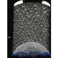 Avize Marketim Elanor Kristal Taşlı Şemsiye Modeli Plafonyer Avize