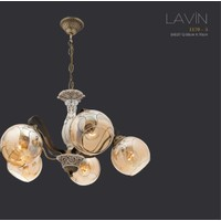 Avize Marketim Lavin 5´li Eskitme Avize (Bal)