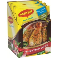 Maggi Otlu Tavuk Çeşni 34 Gr 12'li Paket