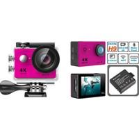 "Probiel Eken H9 G630 Profesyonel 4K Ultra HD 2160p Wifi 4K/15 Fps Full HD 1080P/60 Fps 12MP 2.0"" LCD 170 Derece Balık Gözü Lens 30 Mt Su Geçirmez Aksiyon Kamera"