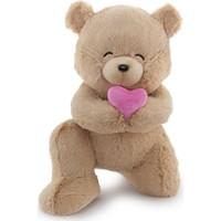 Neco Plush Sevgiliye Hediye Fluffy Minik Kalpli Serenat Ayı 45 cm