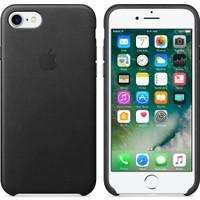 Apple iPhone 7 / 8 Deri Kılıf - Siyah - MMY62ZM/A (İthalatçı Garantili)
