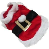 Patiland Erkek Kedi/Köpek Noel Kostümü