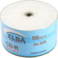 Elba Cd-R 700Mb-80Mın Prıntable 50Li Shrink