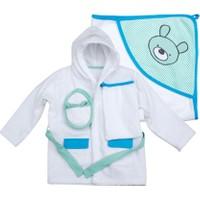 Zeyland Erkek Bebek 4 Lü Bornoz Takım