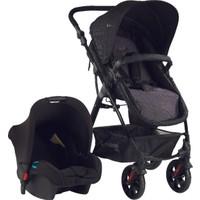 Hattrick Baby Bco Bts 500 Bebek Arabası+Koltuk Set