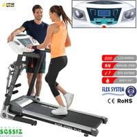 Altis Icona Plus M 2,5 Hp Masajlı Ve Manuel Eğimli Koşu Bandı